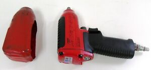 Snap on 3 8 Impact Wrench Super Duty Mg325 Tested Works Red black