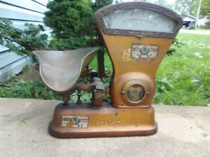 Antique Early 1900s Dayton Computing 2 Lb Candy Scale