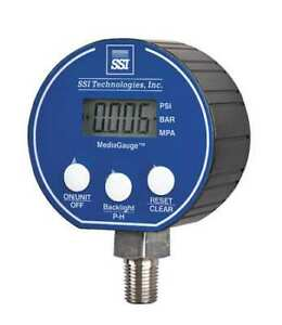 Ssi Mg 5000 a 9v r Digital Pressure Gauge 0 To5000psi mg 9v