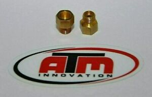 Holley Style Carburetor Gas Main Jets Kit 1 4 32 Any Size Choose 2 Pack 50 110