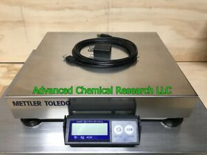 Mettler Toledo Ps60 Usb Shipping Scale 150lb X 0 05 Capacity Stainless Steel Top