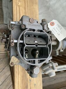 1957 Lincoln Wcfb Carter Carburetor 2404sa 368ci W Tag