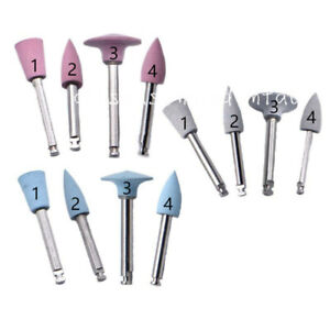 10 Pcs Dental Silicone Grinding Heads Polisher For Low speed Machine Polishing