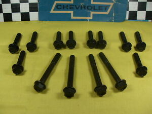 1958 59 59 60 61 62 63 64 1965 Chevy Impala Exhaust Manifold Bolts Hp 348 409