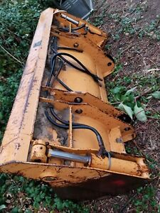 Used Case 580m 580l Front Loader Backhoe Bucket 4 In 1 Clampshell