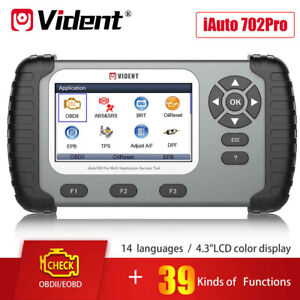 Vident Iauto 702pro Obd2 Diagnostic Scanner Abs Srs Support 25 Special Functions