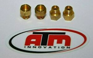 Holley Style Carburetor Gas Main Jets Kit 1 4 32 Any Size Choose 4 Pack 50 110