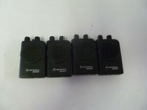 Lot Of Four Motorola Minitor Iv 45 48 9 Mhz 2 Ch Low Band Fire Ems Pagers Y347