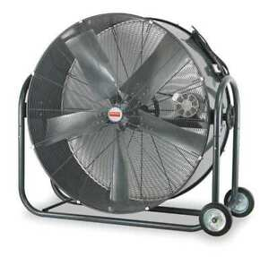 Dayton 1ynw8 42 Mobile Air Circulator 10000 18000 Cfm Non oscillating