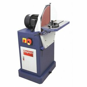 DAYTON 400H40 Disc Sander220 Voltage20