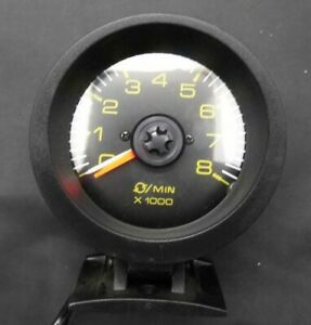 3 3 4 Vintage Tachometer Gauge Min X100 Made In Usa 0 80 4 6 8 Cylinders Chevy