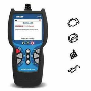 Innova 3040e Obd2 Scanner Car Code Reader With Abs Live Data And