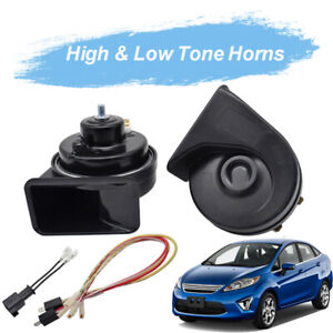 For Ford Fiesta 2008 2017 Snail Horn 12v 125db Waterproof 410 510hz Dual Tone