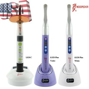 Woodpecker Dental Wireless Curing Light Led Lamp Led C 1 Sec Cure Iled Plus