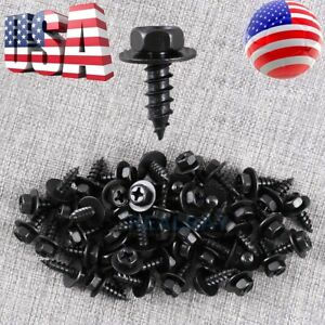50pcs Bmw Bumper Engine Transmission Splash Shield Cover Rivet Clip Bolt Srew