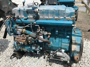 1997 International Dt466e Diesel Engine Running Take Out