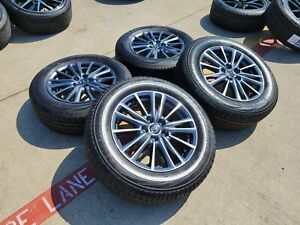 17 Honda Civic Si Oem Black Wheels Rims Tire 2011 2017 2018 2019 Accord 64025