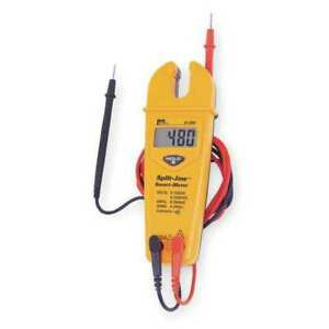 Ideal 61 096 Split Jaw Clamp Meter 200a lcd