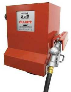 Fill rite Fr702vr 15gpm 1 3hp 115vac Fuel Transfer Cabinet Pump System