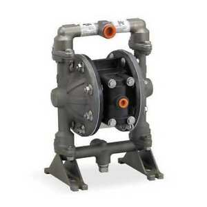 Aro Pd05r aas pgg b Double Diaphragm Pump Aluminum Air Operated Nitrile 12