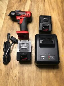 Snap on 18v Lithium Cordless 3 8 Impact Wrench Kit Ct8810b