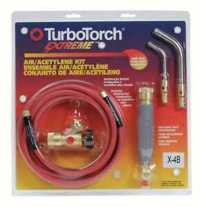 Turbotorch 0386 0336 Brazing And Soldering Kit Series X 4b
