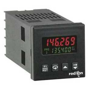 Red Lion C48cd102 Counter 6 Digits 2 Preset backlit Lcd