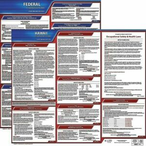 Jj Keller 100 hi k Labor Law Poster Kit hi english 27 In W