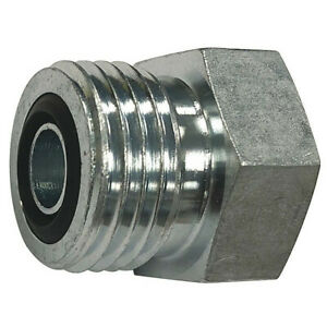 Parker 8 Pnlo ss Hydraulic Plug male Ors Fitting Thread
