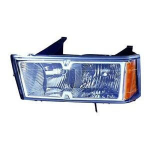 Fits 2005 2008 Chevrolet Colorado Head Light Assembly Driver Side capa