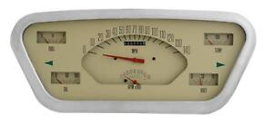 1953 1955 Direct Fit Ford F 100 F series Truck Gauge Panel Dash Cluster Ft53t
