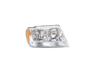 Fits 2004 Jeep Grand Cherokee Head Light Assembly Passenger Side