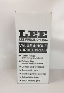 Lee Precision  4 Hole Turret Press with Auto Index   # 90932