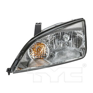 Fits 2005 2007 Ford Focus Headlight Assembly Driver Side Nsf Type