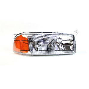 Fits 2001 2002 Gmc Sierra 2500 Hd Headlight Passenger Side capa