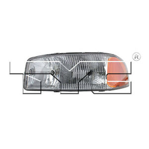 Fits 2002 2005 Gmc Sierra 2500 Hd Headlight Driver Side nsf