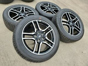18 Ford Mustang Gt Oem 2020 Black Wheels Rims Tires 10157 2017 2018 2019 New