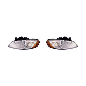 Fits 2006 Dodge Stratus Head Light Assembly Pair Driver And Passenger Side