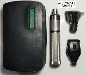 Welch Allyn 3 5v Student Diagnostic Set Otoscope Ophthalmoscope Plug in Handle