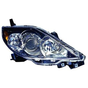 Carlights360 Fits 2006 2007 Mazda 5 Head Light Assembly Passenger Side Replac