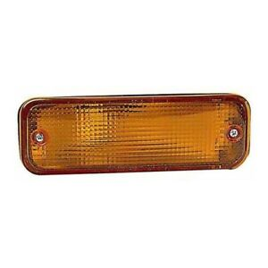 Fits Toyota Corolla Sedan Wagon 88 1990 Signal Light Assembly Passenger Side Amb