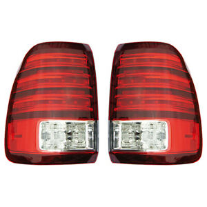 Fits 2006 2007 Lexus Lx470 Pair Rear Tail Lights Driver And Passenger Side On Bo