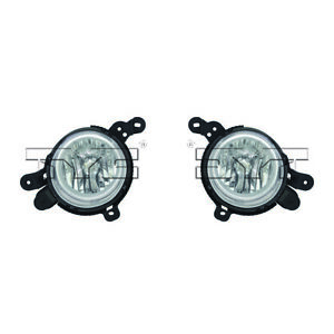 Fits 2014 Kia Soul Pair Driver And Passenger Side Fog Light Nsf Certified With B