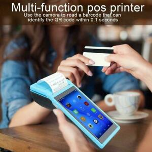 For Android 6 0 Pos Terminal Handheld Thermal Receipt Printer 5inch Touch Screen