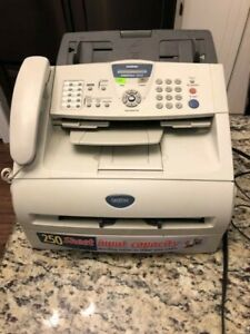 Brother Intellifax 2820 Laser Fax Machine Printer Copier Excellent Condition