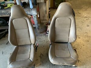 1998 99 00 01 Bmw Z3 Roadster E36 Beiges Power Heated Front Seats
