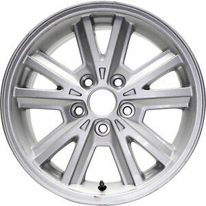 Used 16 2005 2009 Ford Mustang V6 All Silver Painted Alloy Wheel Rim