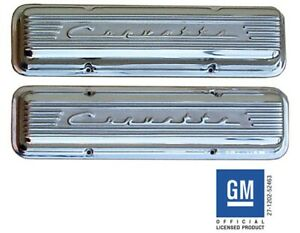 Chevy Small Block 1955 1959 Staggered Bolt Pattern Corvette Valve Covers