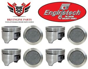 8 Enginetech Gm Olds Oldsmobile 403 6 6 V8 Pistons 1977 1979 030 060
