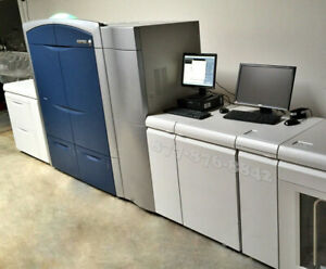 Xerox Color 1000i Press Commercial Laser Printer With Integrated Fiery 100 Ppm
